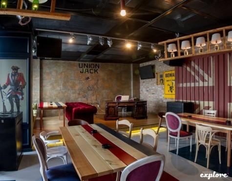 Lucrari, proiecte Amenajare Pub Union Jack - Galati SENSIO - Poza 2