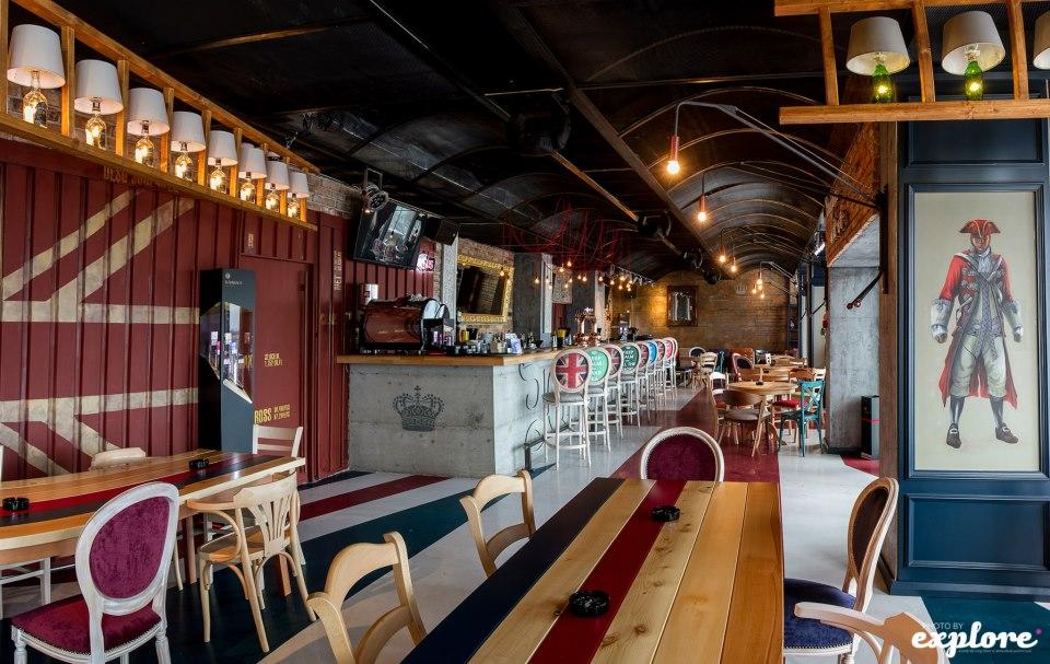 Amenajare Pub Union Jack - Galati SENSIO - Poza 4
