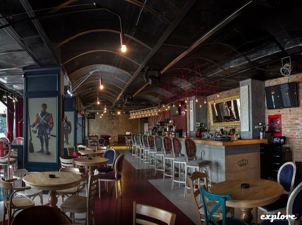 Amenajare Pub Union Jack - Galati SENSIO - Poza 5