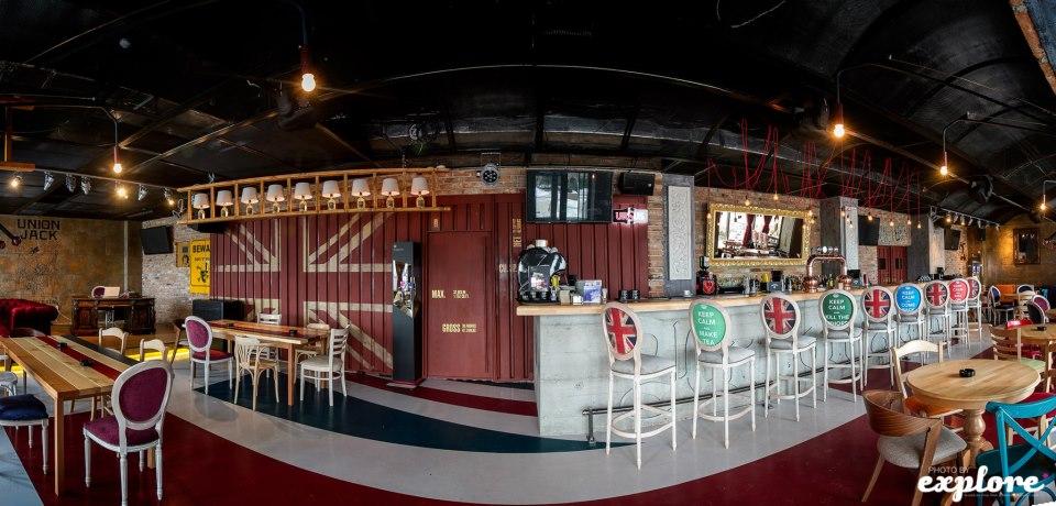 Amenajare Pub Union Jack - Galati SENSIO - Poza 6