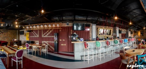 Lucrari, proiecte Amenajare Pub Union Jack - Galati SENSIO - Poza 6