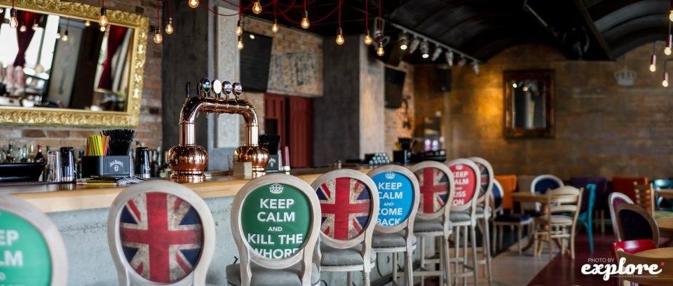 Amenajare Pub Union Jack - Galati SENSIO - Poza 7