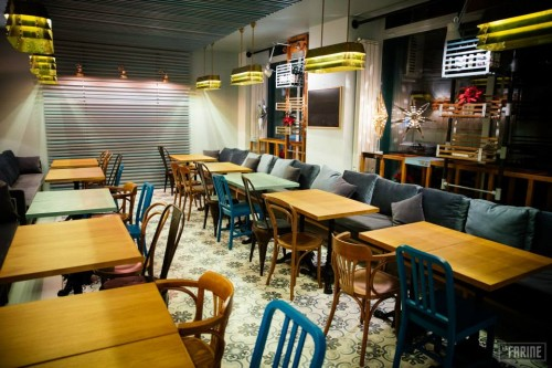 Lucrari, proiecte Mobilier pentru restaurant - La Farine SENSIO - Poza 1
