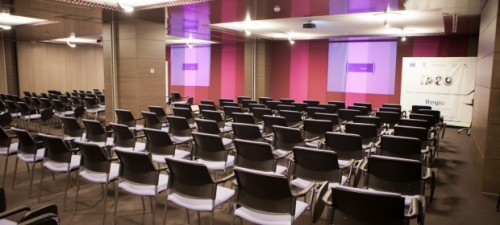 Lucrari de referinta Mobilier sali de conferinta - Centrul Ideo Iasi SENSIO - Poza 41