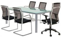 Scaune de birou Scaunele de birou Sensio au inaltime reglabila, suport pentru spate, spatar cu sistem de blocare, sezut confortabil, structura solida.