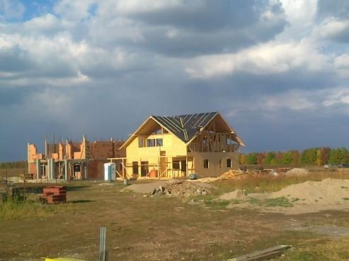 Lucrari de referinta Structuri - case in constructie, constructii din lemn Compart srl - Poza 32
