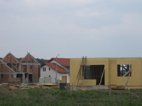 Lucrari de referinta Structuri - case in constructie, constructii din lemn Compart srl - Poza 37