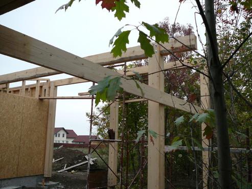 Lucrari de referinta Structuri - case in constructie, constructii din lemn Compart srl - Poza 38