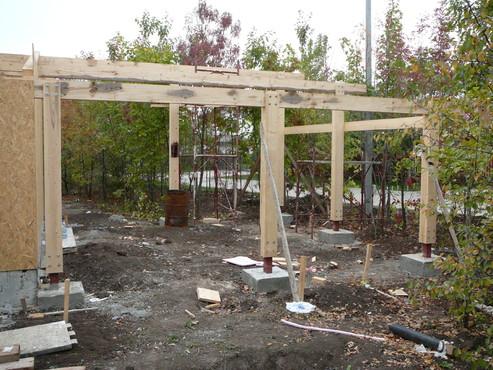 Lucrari de referinta Structuri - case in constructie, constructii din lemn Compart srl - Poza 40