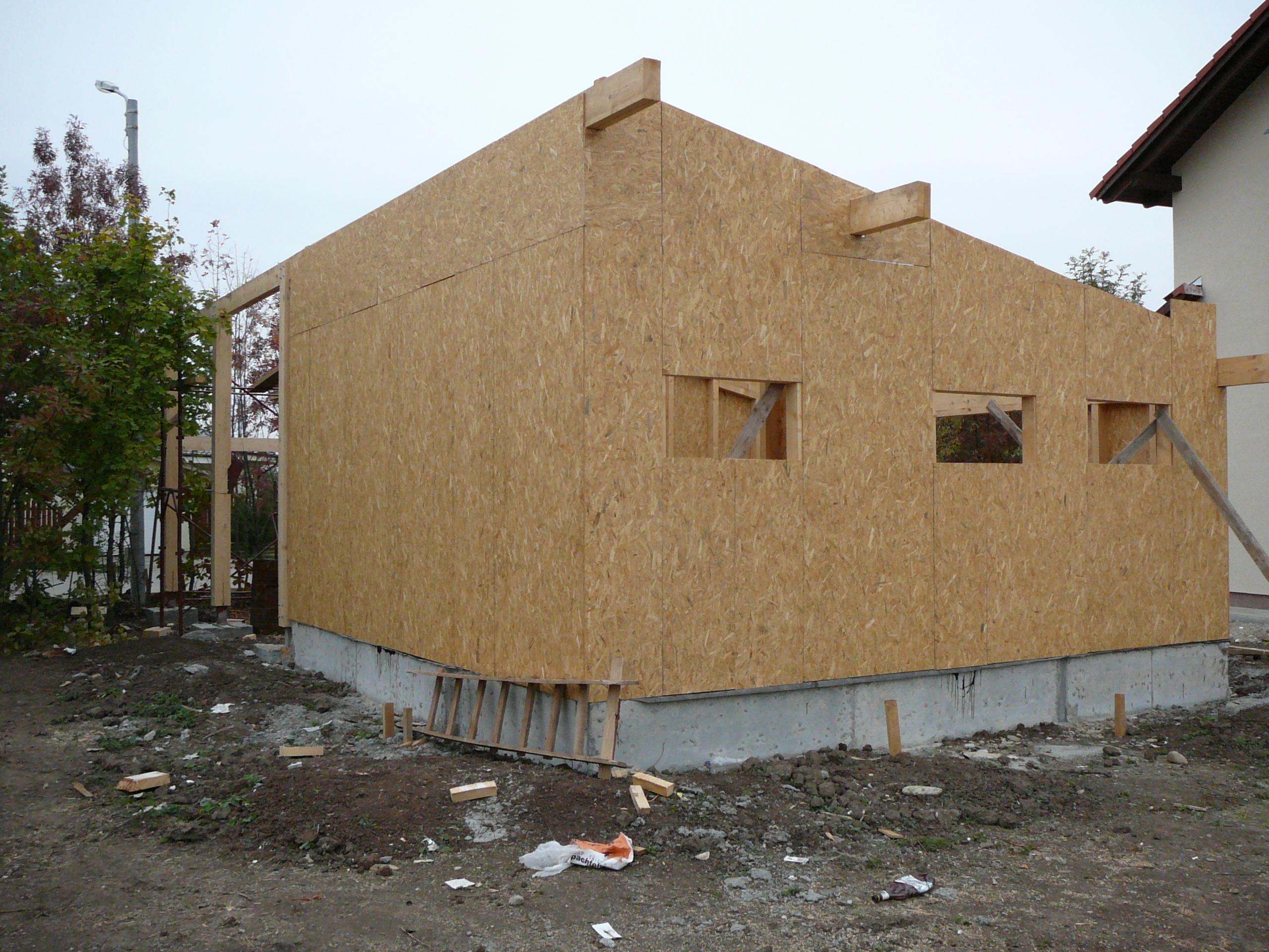 Structuri - case in constructie, constructii din lemn Compart srl - Poza 42