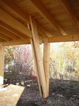 Lucrari de referinta Structuri - case in constructie, constructii din lemn Compart srl - Poza 48
