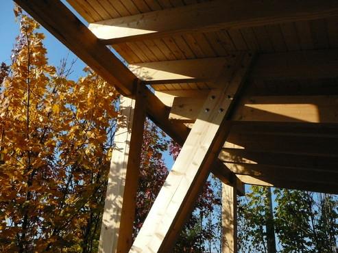 Lucrari de referinta Structuri - case in constructie, constructii din lemn Compart srl - Poza 43