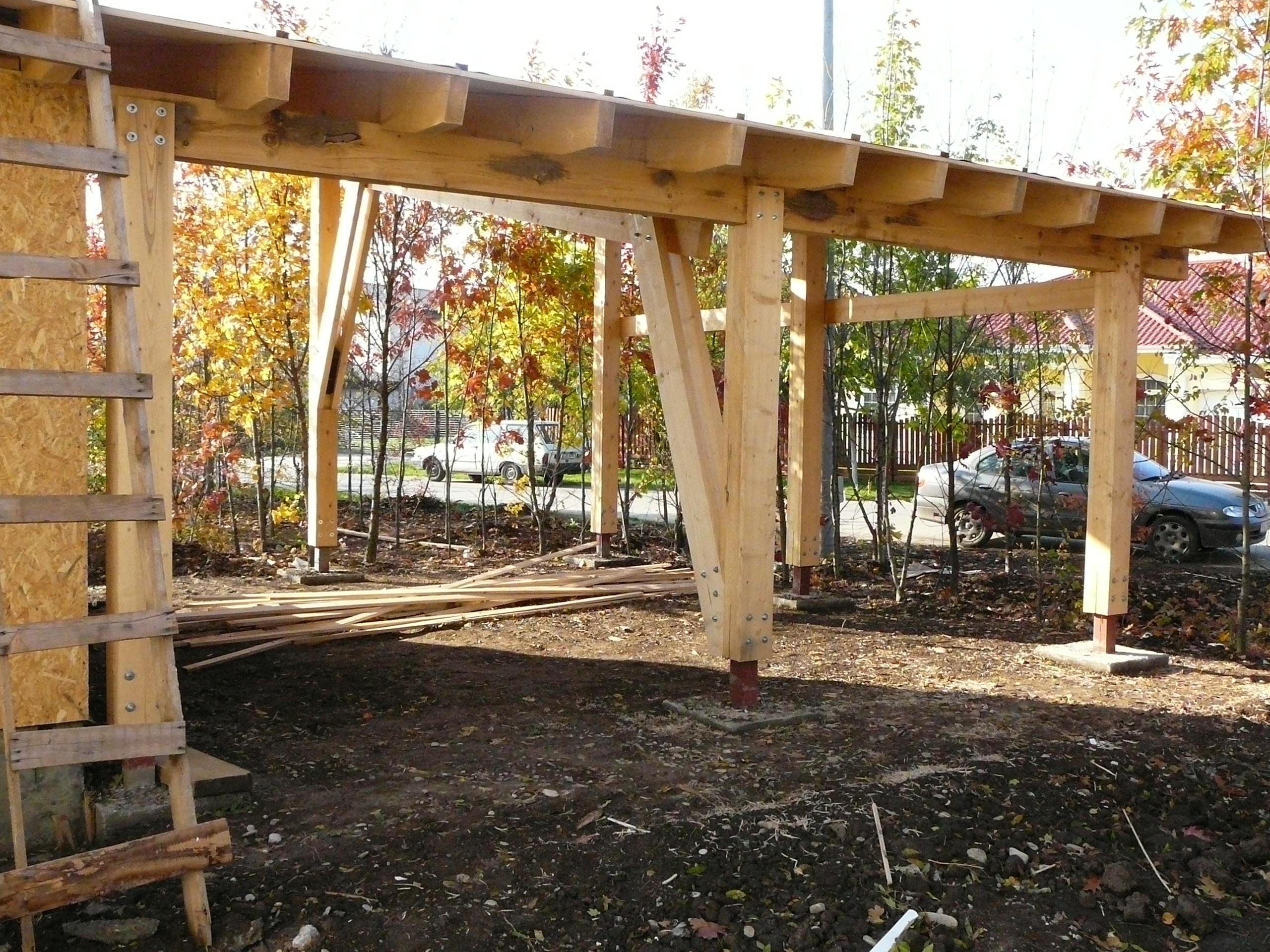 Structuri - case in constructie, constructii din lemn Compart srl - Poza 44