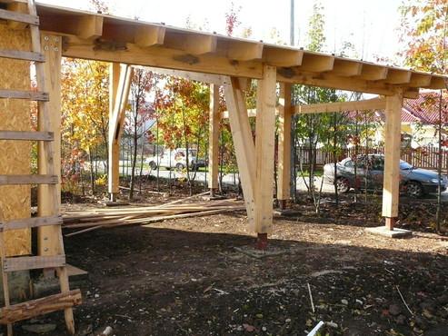 Lucrari de referinta Structuri - case in constructie, constructii din lemn Compart srl - Poza 44