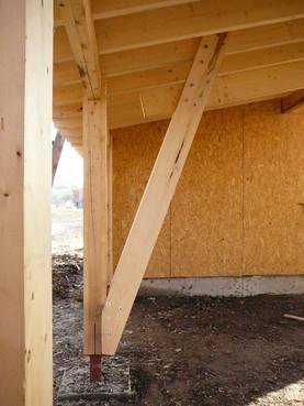 Lucrari de referinta Structuri - case in constructie, constructii din lemn Compart srl - Poza 47
