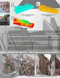 Lucrari de consolidare si reabilitare a zidului cetatii in zona strazii Pasajul Scarilor
