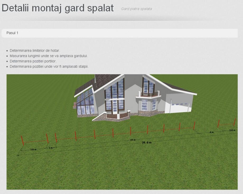 Pagina 1 - Detalii de montaj Prefabet Spalat Instructiuni montaj, utilizare Romana