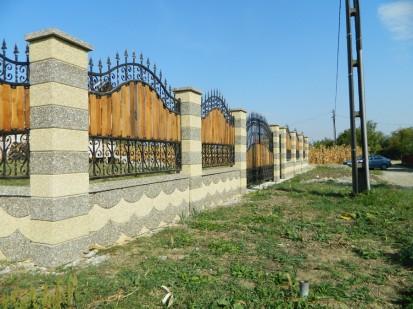 Gard spalat solzi Spalat Gard modular din beton
