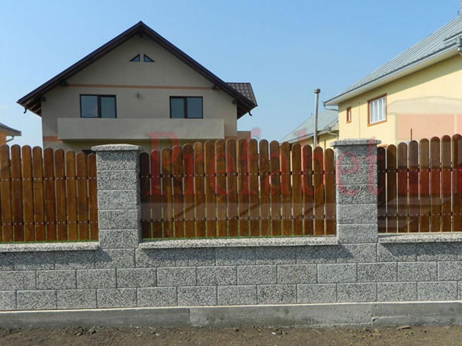 Gard modular din beton Prefabet - Poza 14