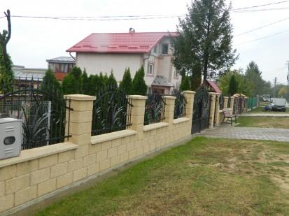 Gard spalat crem zidarie Spalat Gard modular din beton