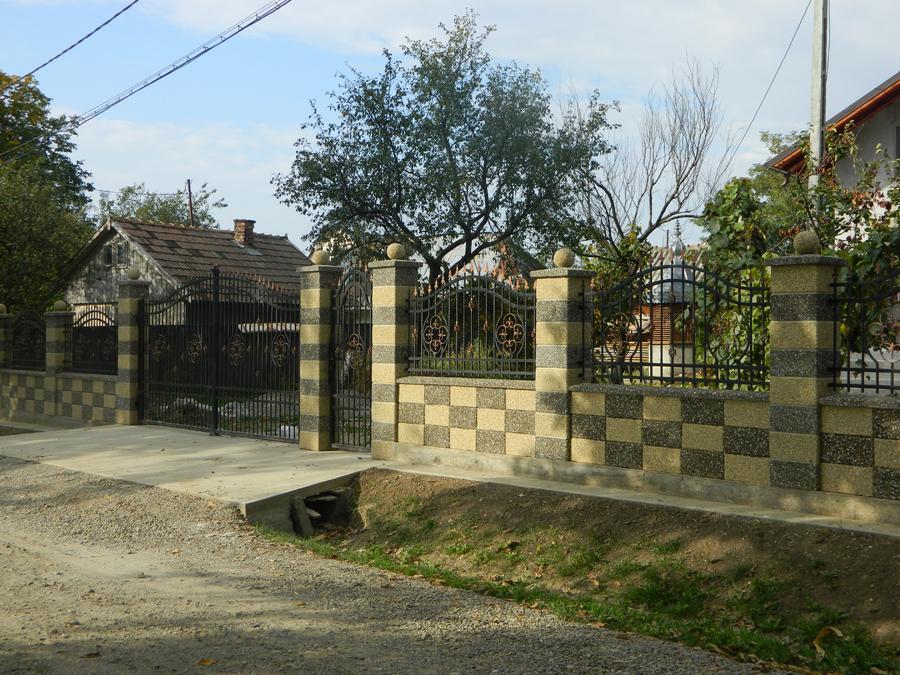 Gard modular din beton Prefabet - Poza 20
