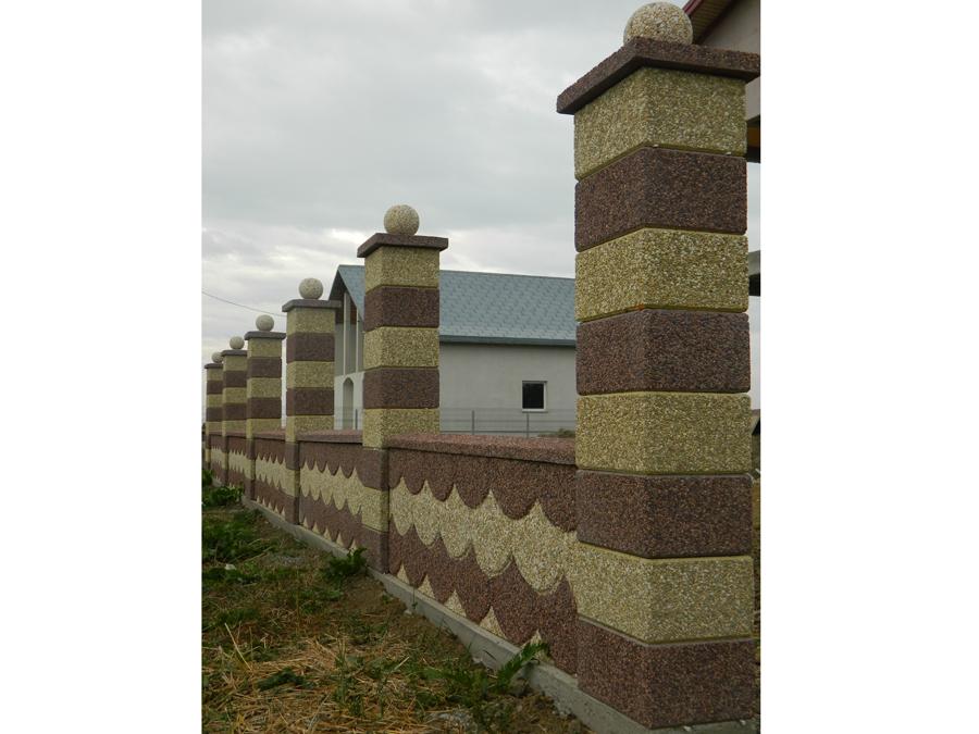 Gard modular din beton Prefabet - Poza 25