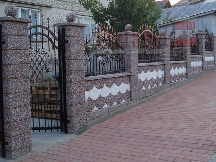 Gard modular din beton Prefabet - Poza 26