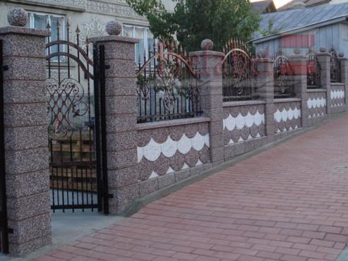 Lucrari, proiecte Gard modular din beton Prefabet - Poza 26