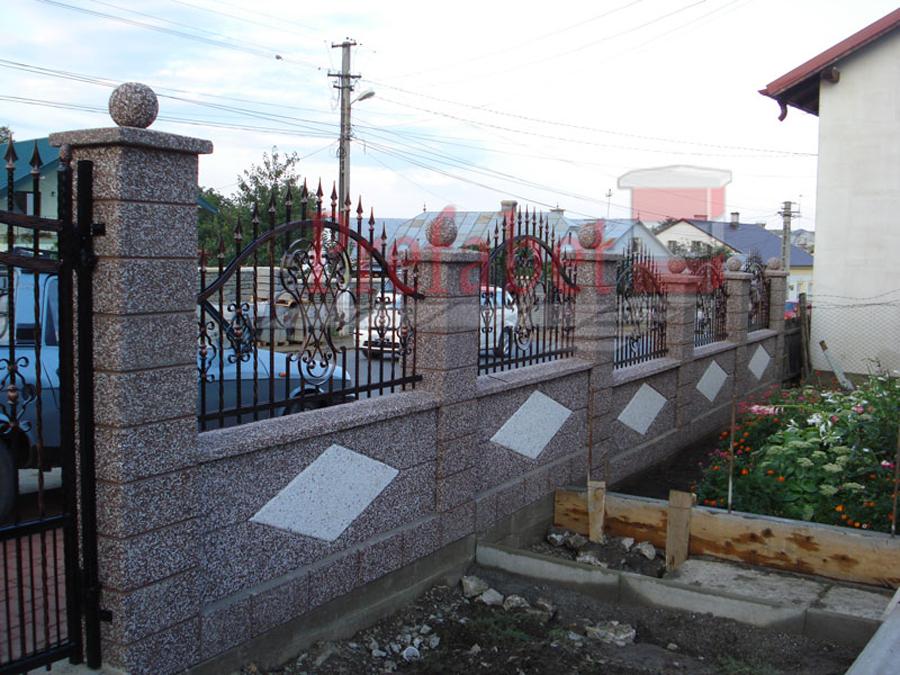 Gard modular din beton Prefabet - Poza 27