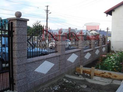 Gard spalat romb Spalat Gard modular din beton