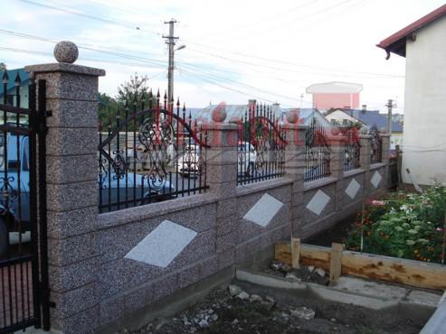 Lucrari, proiecte Gard modular din beton Prefabet - Poza 27