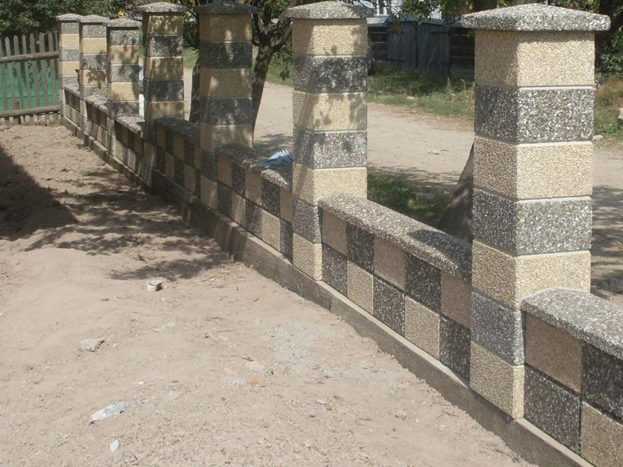 Gard modular din beton Prefabet - Poza 29