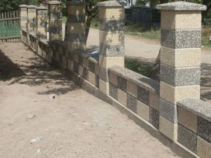 Gard spalat sah Spalat Gard modular din beton