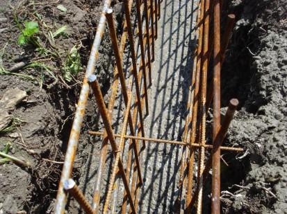 Armare fundatie gard Spalat Gard din beton