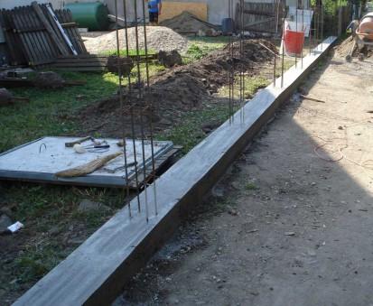 Decofrare elevatie Spalat Gard din beton