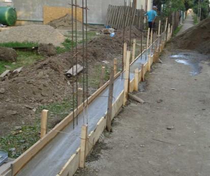 Elevatie gard Spalat Gard din beton
