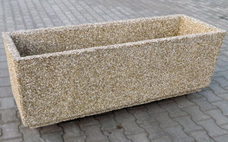 Jardiniere din beton Prefabet - Poza 2