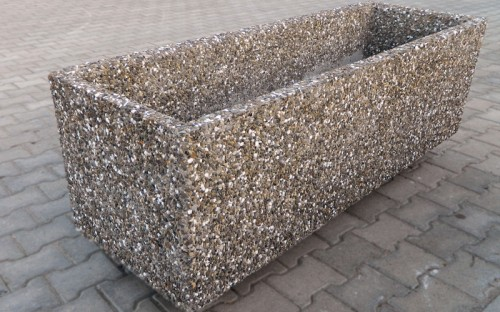 Prezentare produs Jardiniere din beton Prefabet - Poza 4