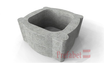 Prezentare produs Jardiniere din beton Prefabet - Poza 1