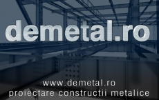 Proiectare structuri metalice NOICONSTRUIM