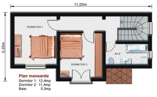 Proiect vila cu etaj NOICONSTRUIM - Poza 2