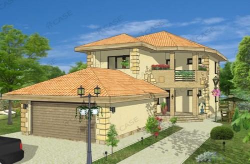 Proiect vila cu etaj NOICONSTRUIM - Poza 1