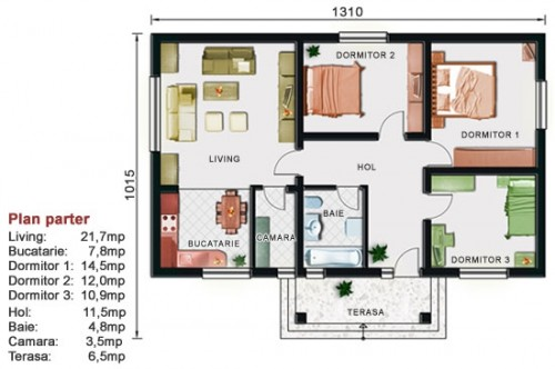 Proiect casa parter NOICONSTRUIM - Poza 2