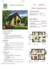 Proiect casa cu mansarda NOICONSTRUIM