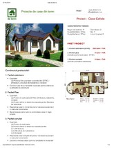 Proiect casa parter NOICONSTRUIM