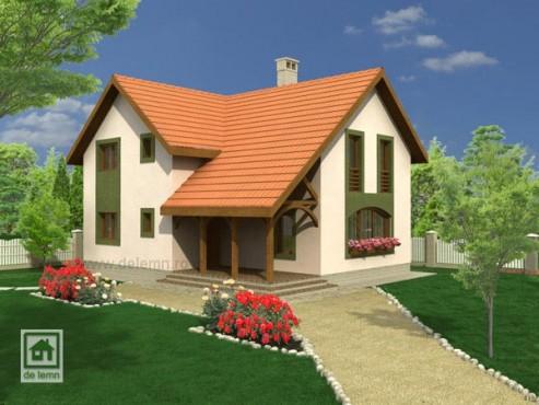 Vila cu mansarda NOICONSTRUIM - Poza 1