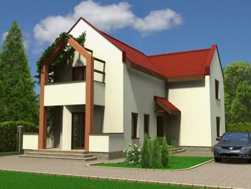 Proiect vila cu suprafata > 150mp NOICONSTRUIM - Poza 1