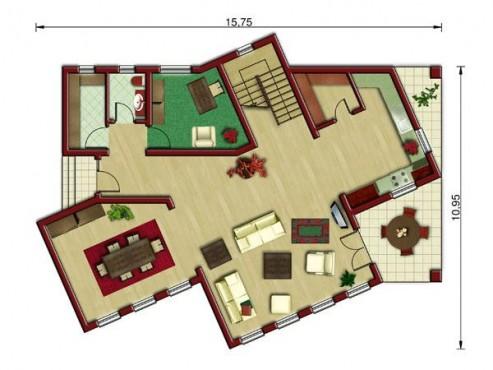 Proiect vila cu suprafata > 150mp NOICONSTRUIM - Poza 2