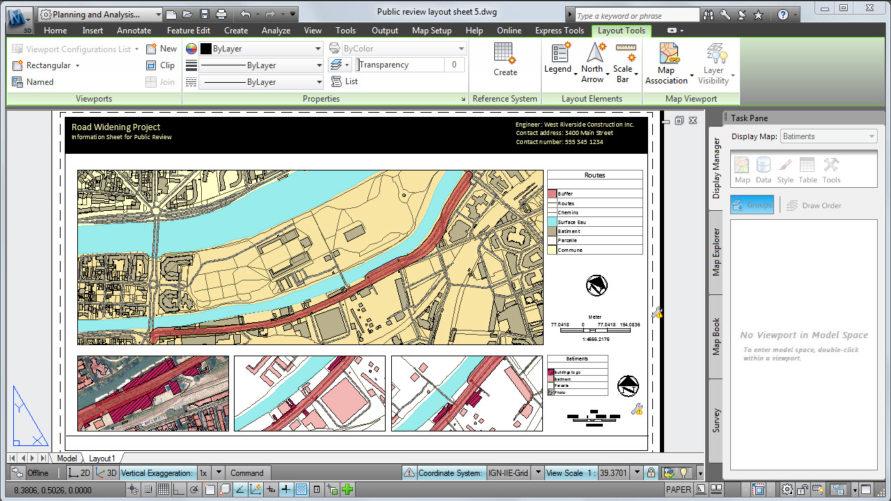 Software inginerie si GIS - Autodesk AutoCAD Map 3D AUTODESK - Poza 2