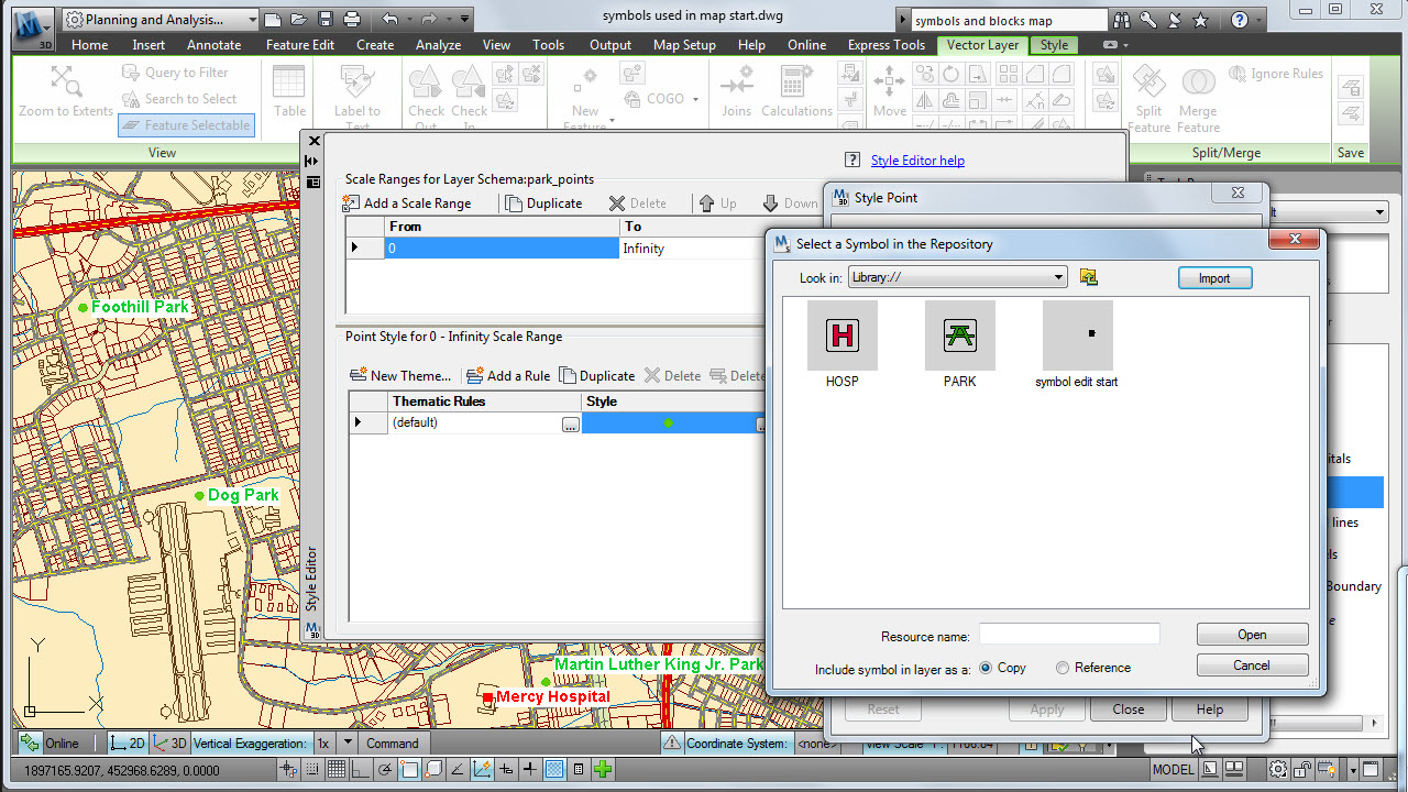 Software inginerie si GIS - Autodesk AutoCAD Map 3D AUTODESK - Poza 11